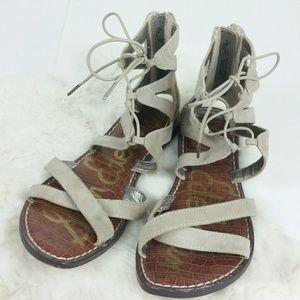 Sam Edelman Shoes - Sam Edelman {Katya Lace Up Leather Sandal} 6.5M